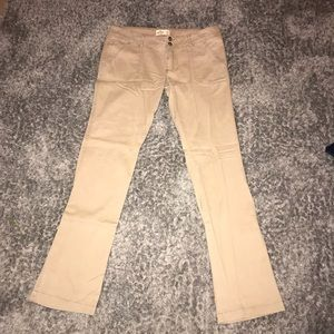 Hollister khaki pants. Size 9R NEW WITH TAGS!